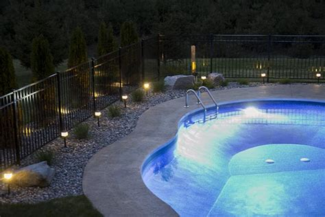 landscape lighting around pool how to install low voltage landscape lighting home construction improvement