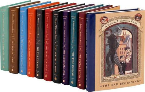 lemony snicket picture book reading tween book review the series of unfortunate