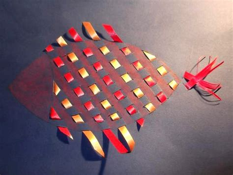 paper weaving craft paper weaving crafts for