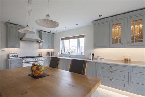 light gray kitchens light grey shaker kitchen design by herbert william