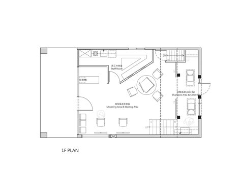 floor plan for hair salon gallery of renovation of split level hair salon