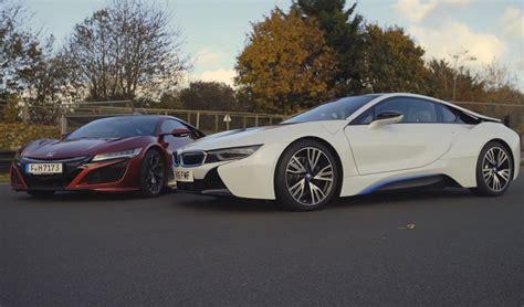 Bmw Vs Acura hybrid havoc bmw i8 vs acura nsx