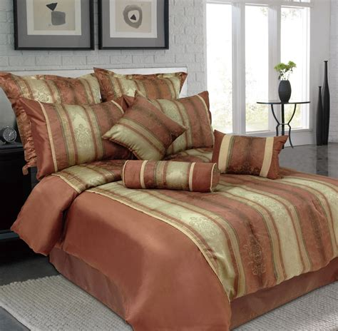 comfort set king 9 king jacquard bedding comforter set