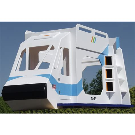 theme bunk bed space shuttle theme bunk bed