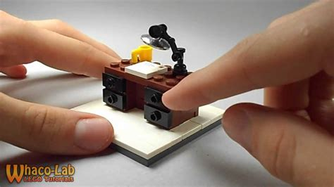 how to make office desk lego tutorial how to build a desk