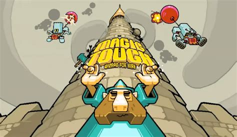magic touch magic touch wizard for hire from nitrome now on