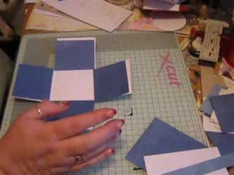 how to make boxes out of card small exploding box tutorial re card tips on