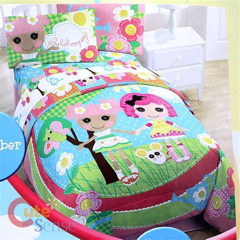 lalaloopsy bed set lalaloopsy 4pc bedding comforter with sheet set ebay