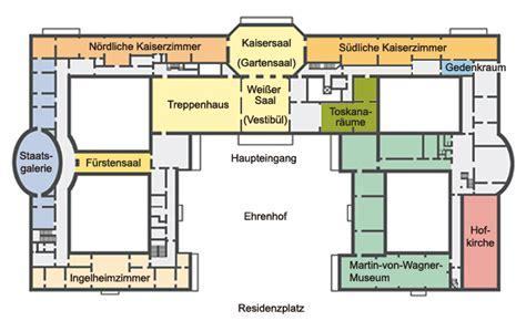 Floor Plan Plus bayerische schl 246 sserverwaltung residenz w 252 rzburg rundgang