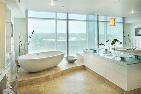 Modern Small Bathrooms hot bathroom trends freestanding bathtubs bring home the