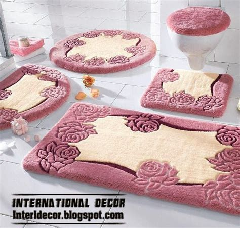 stylish bathroom rugs bathroom rugs sets gen4congress