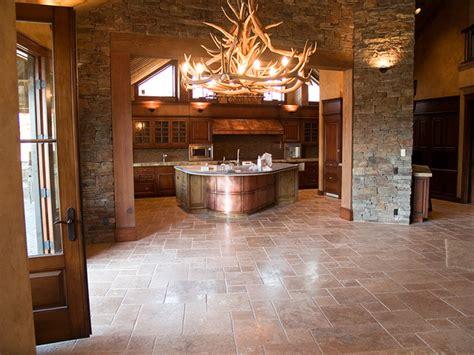 Metal Island Kitchen copper kitchen cabinet panels traditional kitchen by