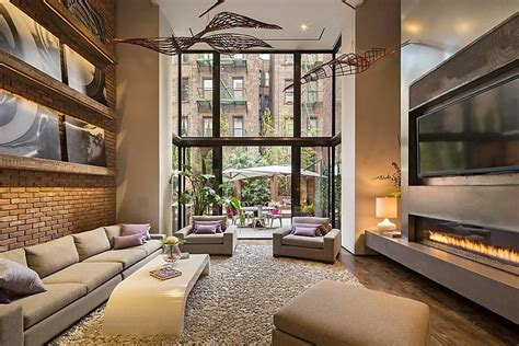home design new york modern townhouse with loft design new york city
