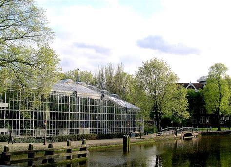 hortus botanicus botanical garden in amsterdam