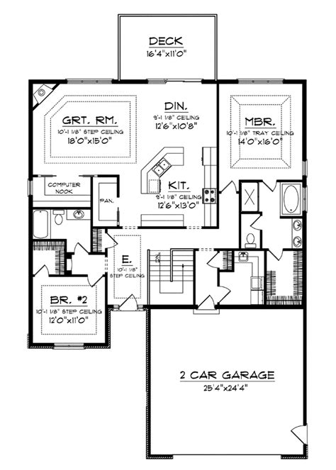 superb house plans with big kitchens 4 house plans with large kitchens smalltowndjs