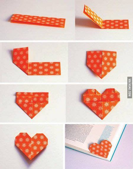 how to make origami bookmark 25 best ideas about bookmark on origami