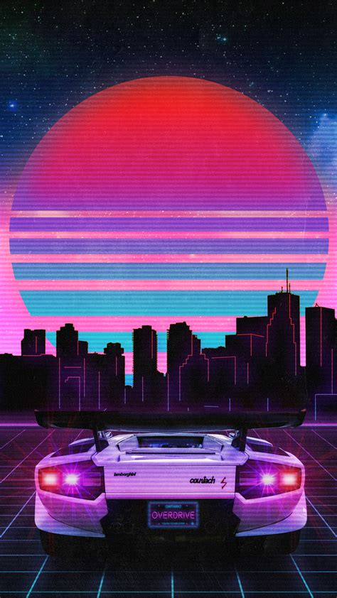 80s Car Wallpaper by Retrowave Wallpapers Wallpaper Cave