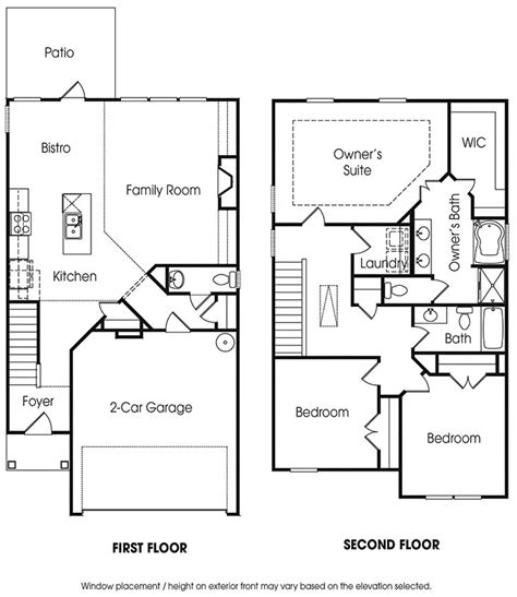 sle floor plan for 2 storey house 28 images modern