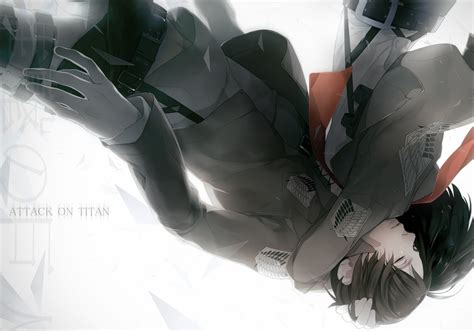 attack on titan eren and mikasa attack on titan images eren x mikasa wallpaper photos