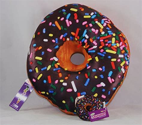 iscream treats donut microbead pillow with mini