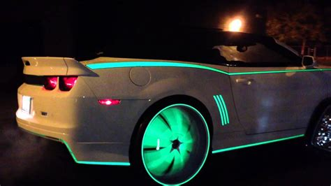 glow in the painted rims kustom glow cars part2
