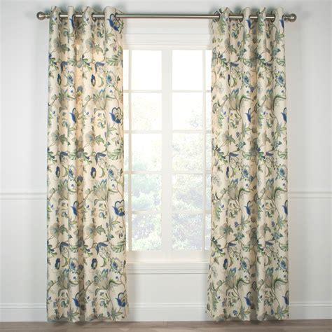 Curtain Backing by Indoor Amp Outdoor Grommet Top Curtains And Panels