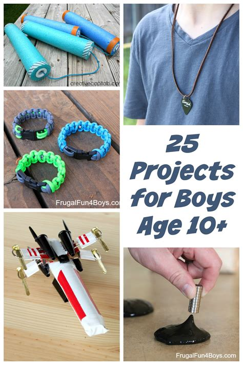 craft projects for boys 25 awesome projects for tween and boys ages 10 and up