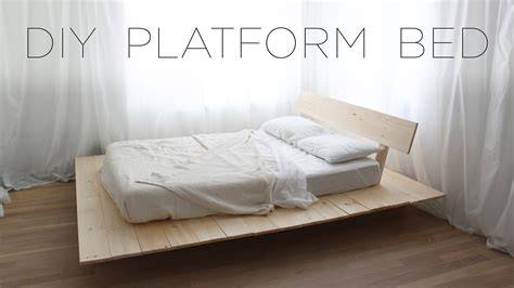 how to make a platform bed frame with drawers how to make a bed frame 28 images how to build a