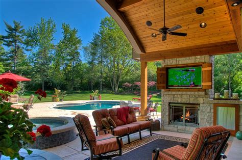 How To Paint An Old Brick Fireplace by How To Create An Entertaining Outdoor Movie Night