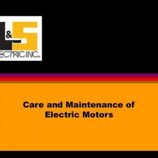 Electric Motor Definition by Care And Maintenance Of Electric Motors Define Electric
