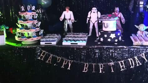 decoracion star wars fiesta star wars decoraci 243 n youtube