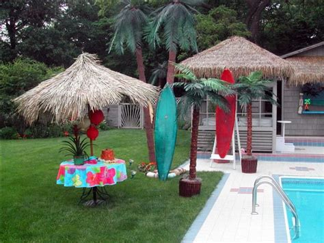 backyard luau vbs ideas
