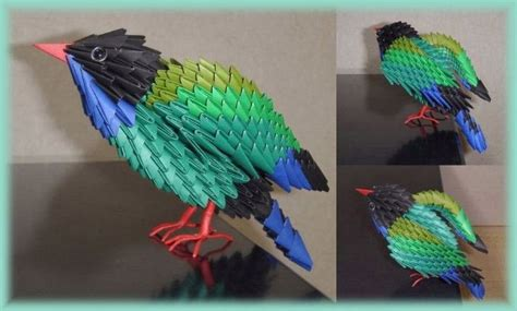 how to make 3d origami bird the world s catalog of ideas