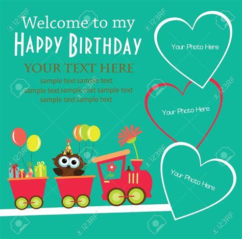 make birthday invitation card invitation cards for birthday cards design