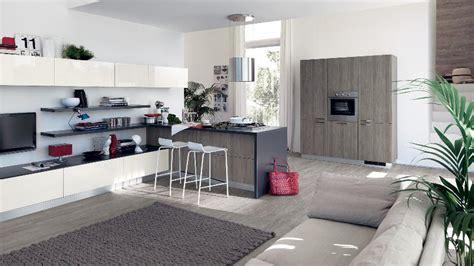 interior design ideas for living room and kitchen modern kitchen and living room space interior design ideas
