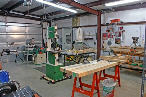 woodworking workshop layout woodshop
