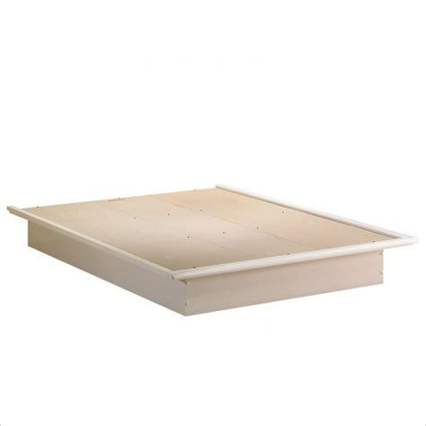 mattress for platform bed platform bed and molding by south shore beds and