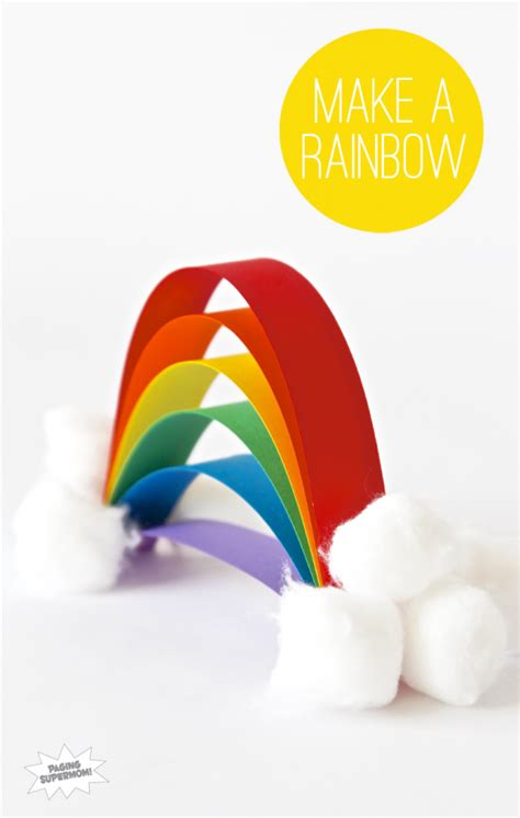 rainbow crafts for 7 rainbow crafts to make you smile paging supermom