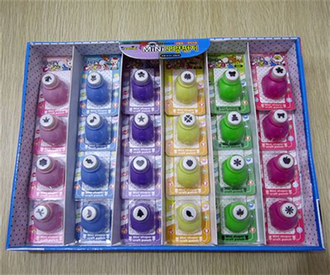 craft paper punch set free shipping of craft punch set 24 cards box for