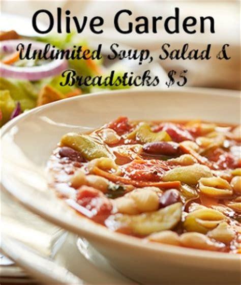 olive garden coupon unlimited soup salad