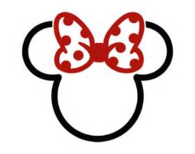 Minnie Mouse Wall Sticker minnie mouse tattoo etsy