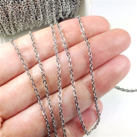 bulk chain for jewelry stainless steel chain bulk chain jewelry chain