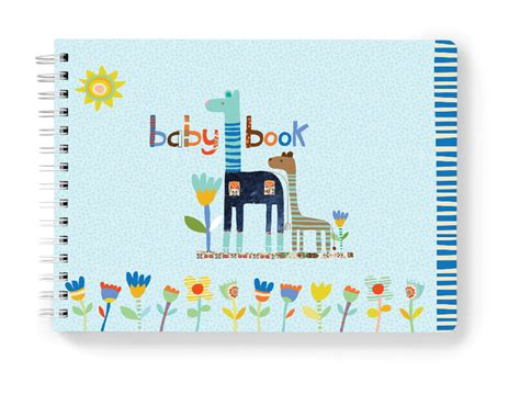 baby book pictures baby book dwell studio pink and green animals album