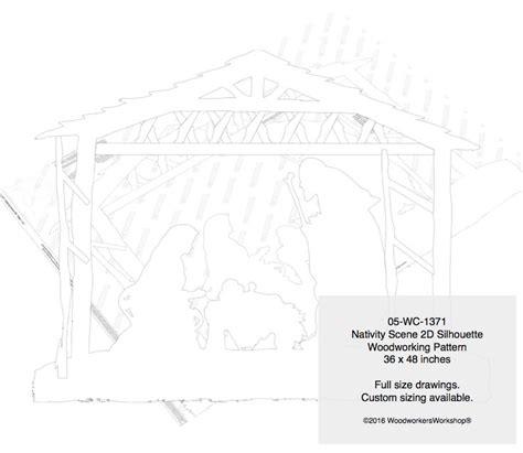 nativity pattern woodworking plans 05 wc 1371 nativity 2d yard