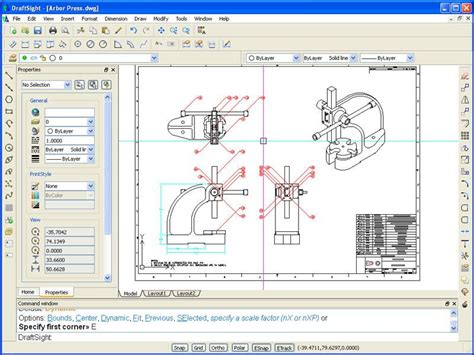 free cad 2d draftsight free 2d dwg editor solid solutions