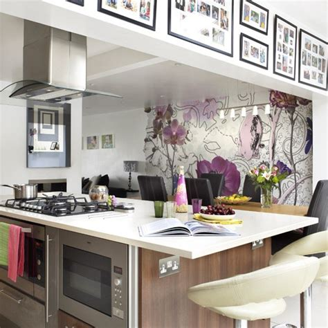 wallpaper design for kitchen kitchen wallpaper ideas 10 of the best housetohome co uk