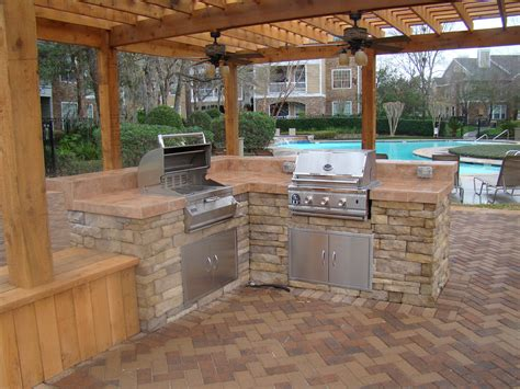 house plans with pools and outdoor kitchens awesome home outdoor kitchen with pool bistrodre porch and landscape ideas
