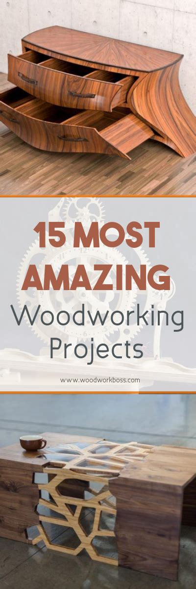 amazing woodworking projects 15 most amazing woodworking projects