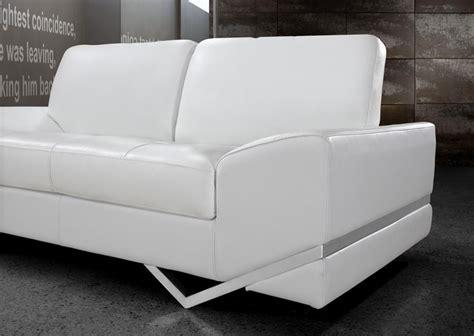 modern white leather sofa white modern sofa set vg 74 leather sofas