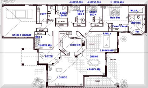8 bedroom house floor plans 8 bedroom floor plans 4 bedroom open floor plans open